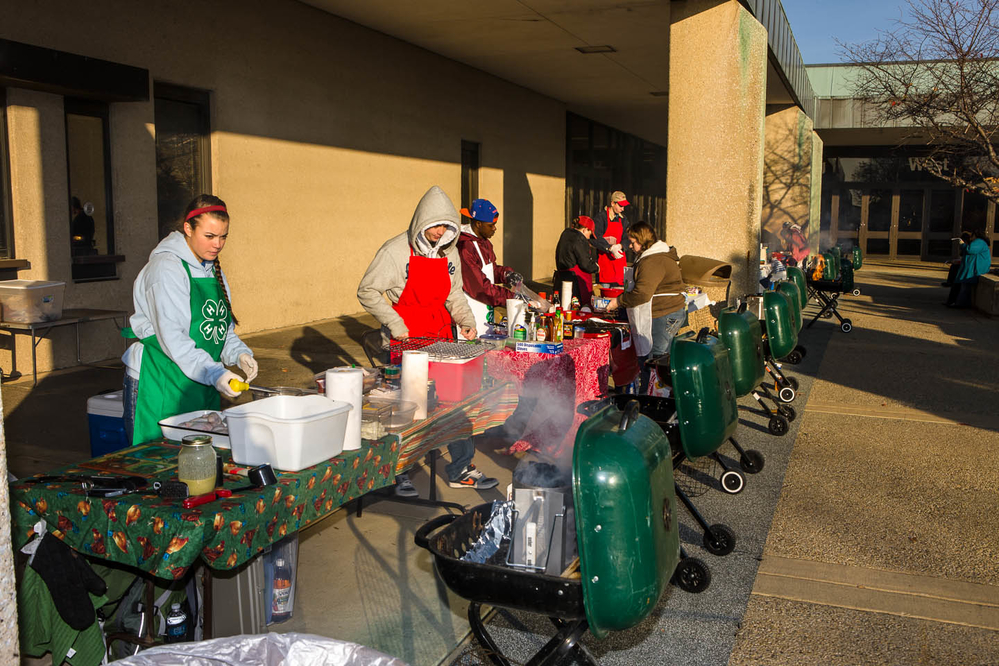 New format for the National 4-H poultry barbecue contests