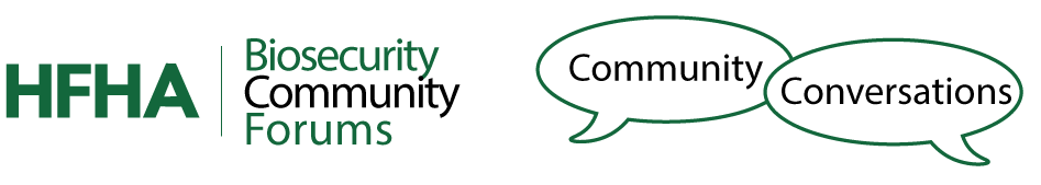 May 14, 2020 Biosecurity Community Conversation