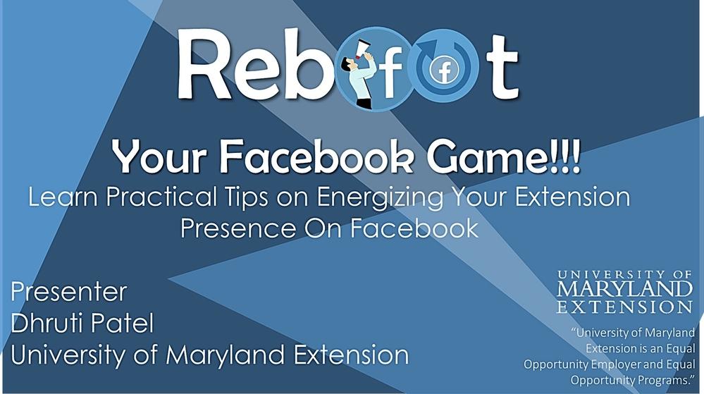 Reboot Your Facebook Game: Learn Practical Tips on Energizing Your Extension Presence On Facebook