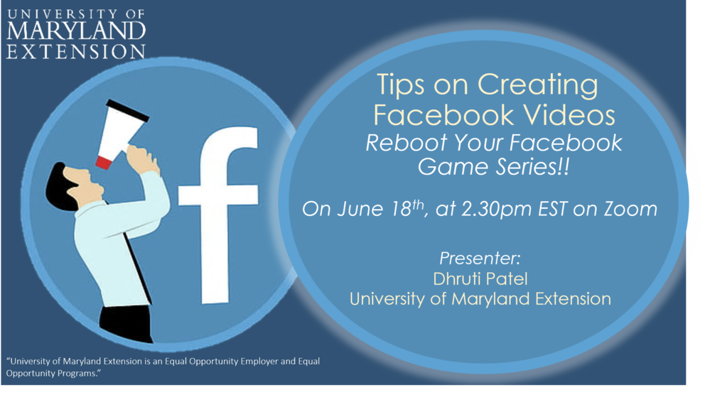 Tips on Creating Facebook Videos - Reboot Your Facebook Game Series
