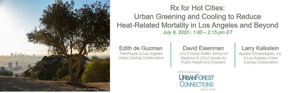 Rx for Hot Cities: Urban Greening and Cooling to Reduce Heat-Related Mortality