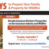 Nevada Insurance Division's Perspective on the Insurance Industry and Wildfire