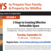 5 Steps to Creating Effective Defensible Space