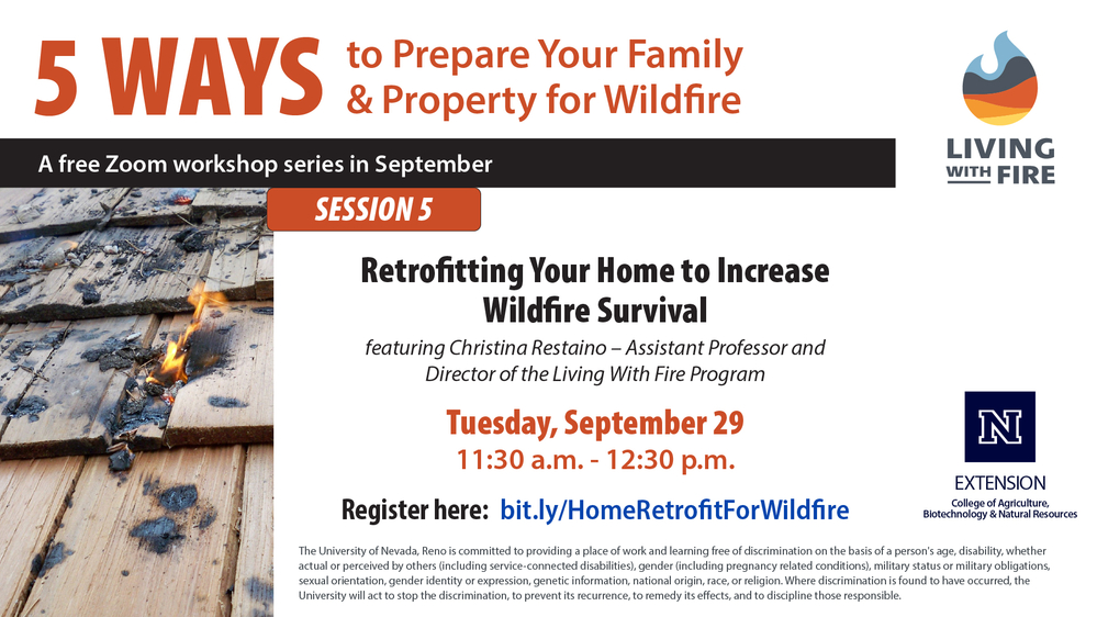 Retrofitting Your Home to Increase Wildfire Survival