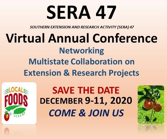 SERA 47 Virtual Annual Conference