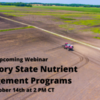 The Current Webinar: Mandatory State Nutrient Management Programs
