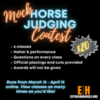 Mock Horse Judging contest