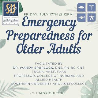 Emergency Preparedness for Older Adults